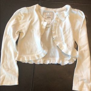 Gymboree white sweater